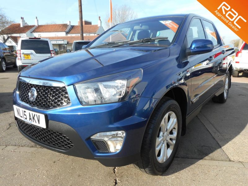 Used SSANGYONG KORANDO SPORTS in Hatfield, South Yorkshire for sale