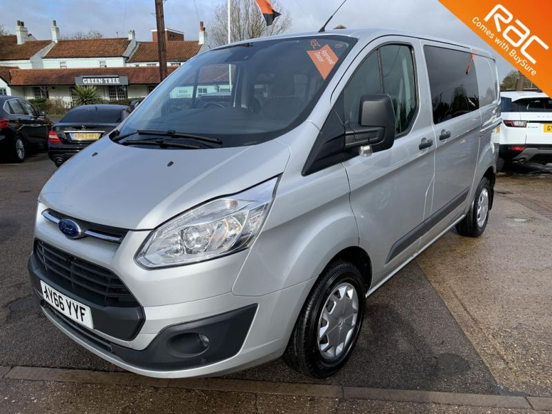 Used FORD TRANSIT CUSTOM in Hatfield, South Yorkshire for sale